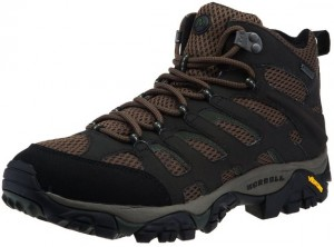 Merrell Mens Moab Mid Gore-Tex Hiking Boot