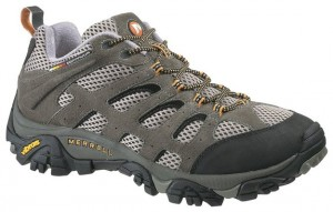 Merrell Mens Moab Ventilator Hiking Shoe