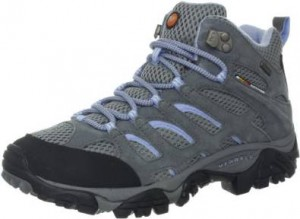 Merrell Womens Moab Mid Waterproof Hiking Boot