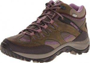 Merrell Womens Salida Mid Waterproof Hiking Boot