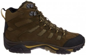 Merrell Mens Moab Peak Mid Ventilator Waterproof Hiking Boot