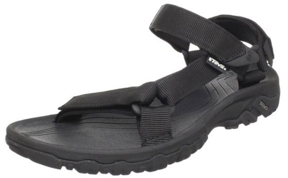 Teva hurricane rated 7th in male hiking sandals