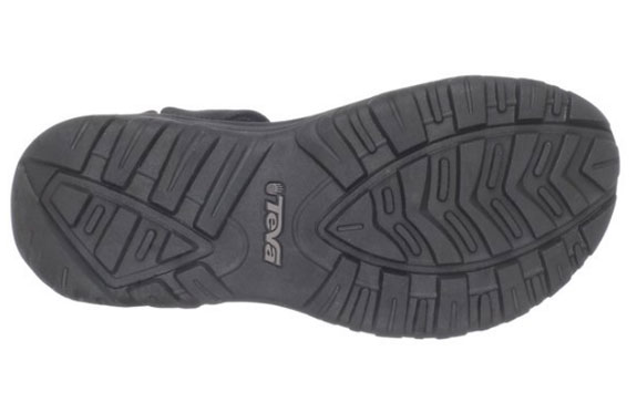 sole of the teva sandal