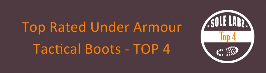 Top rated under armour tactical boots