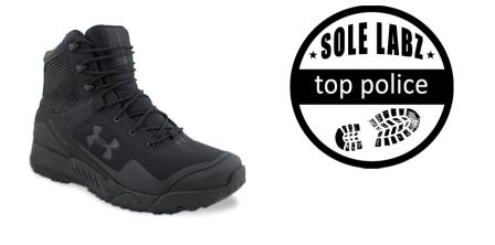 Image of the overall best police boots - most comfortable and surable - the UA Valsetz