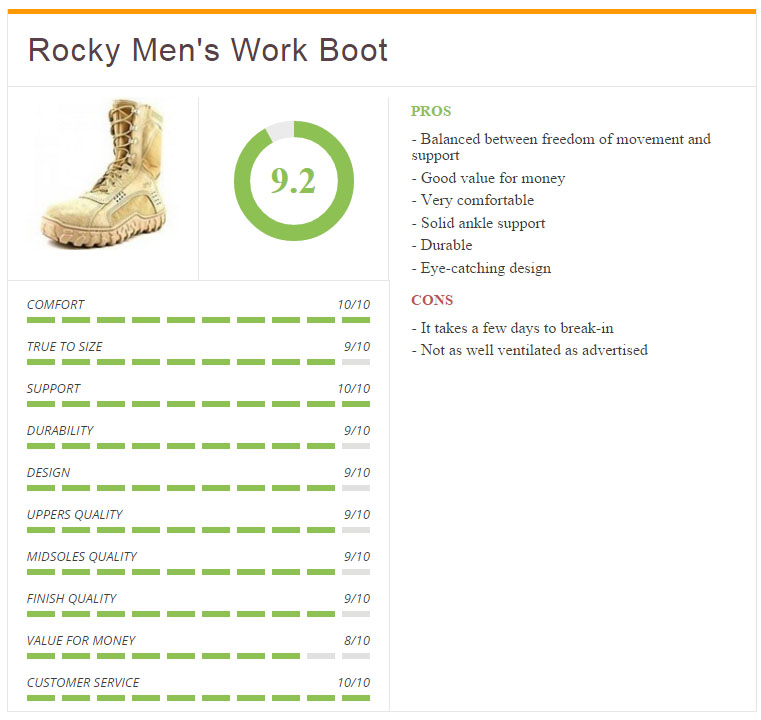 Rocky_8 Inch_S2v_Boot